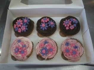 Chocolate And Raspberry Swirl Cupcakes
