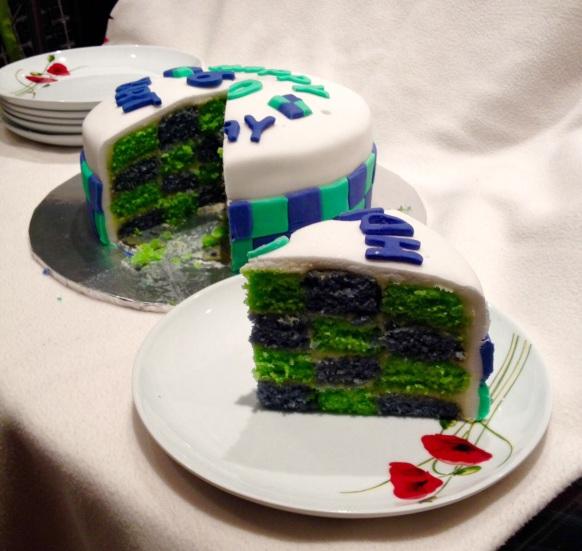 Chequer Board Cake