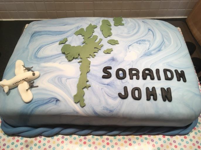 Farewell to Shetland Cak