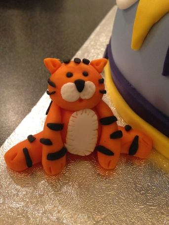 Tiger From Safari Cake