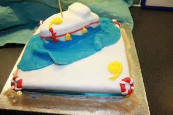 Sailing Fanatic Birthday Cake