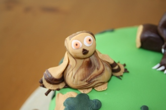 The Owl From The Gruffalo Cake