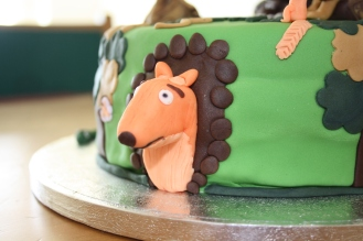 The Fox From The Gruffalo Cake