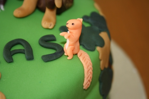 The Squirrel From The Gruffalo Cake
