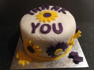 Thankyou Cake