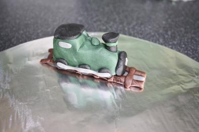 Steam Train Cake Topper