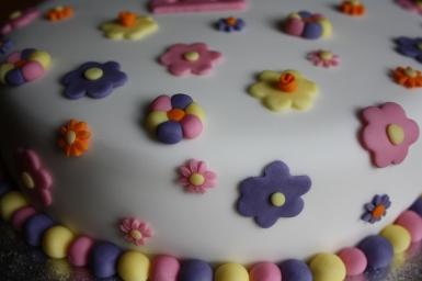 Sugarcraft Flowers from Dedication Cake