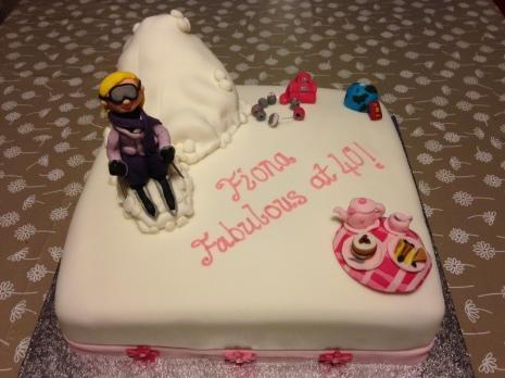 Hobbies Birthday Cake