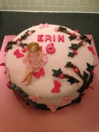 Fairy Magic Birthday Cake