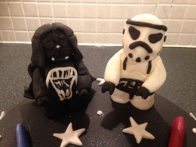 Darth Vader and Storm Trooper