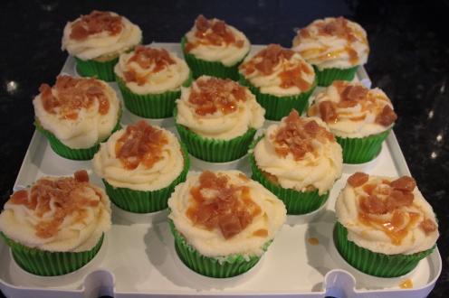 Vanilla Toffee Cupcakes